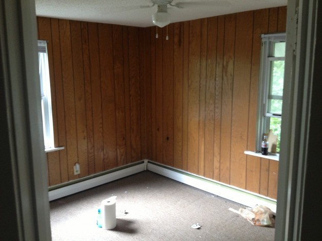 The tips of paint over paneling room painting color tips Priming walls before painting