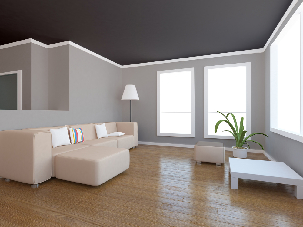 Dress Up Your Ceiling With Paint - Room Painting Color ...
