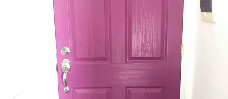 Let Our Year 2018 Burst With Colors. Let's Start with Our Doors.